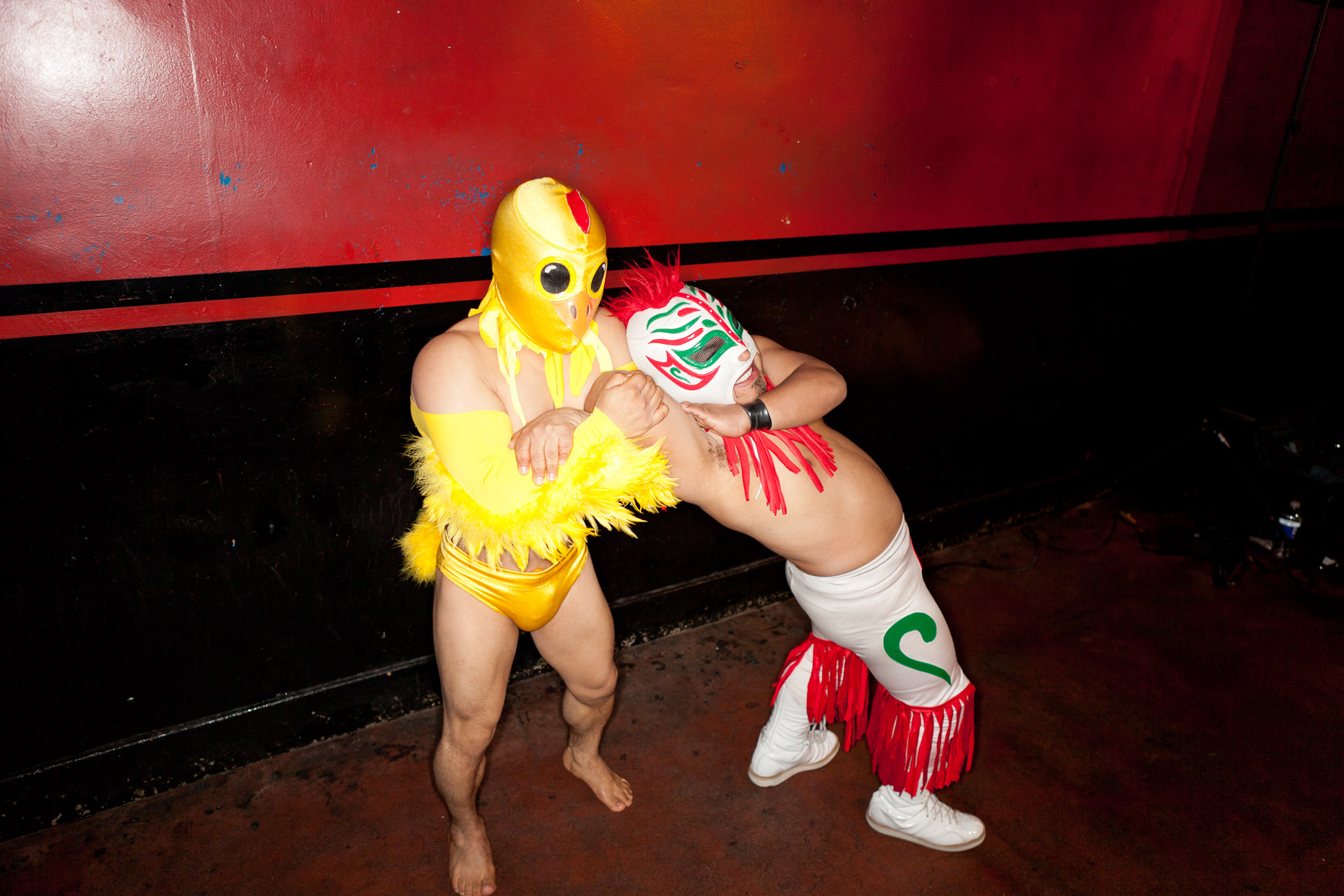 Lucha Vavoom Mexican wrestling and burlesque show in Los Angeles by David Zaitz