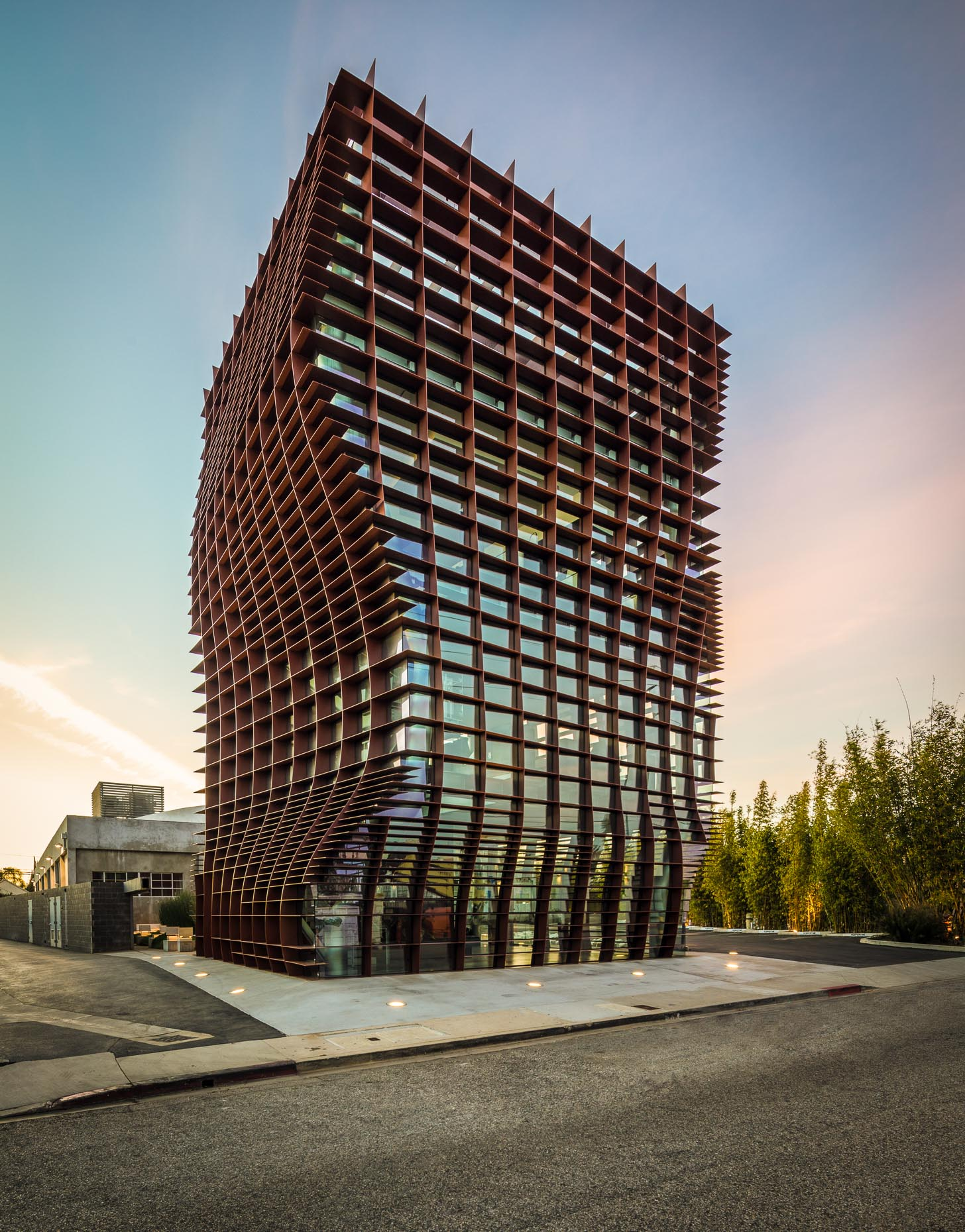 Waffle Building in Culver City, California